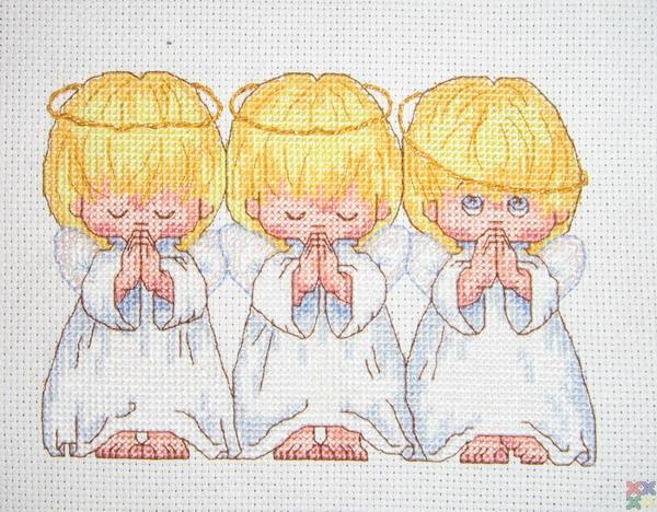 Вышивка крестом-схемы и наборы
