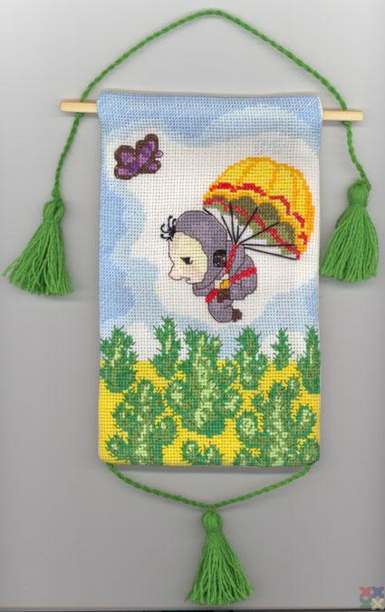 Вышивка о парашютах