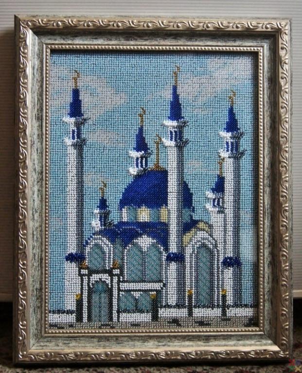 Вышивка мечеть кул шариф готовые работы 341