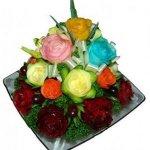 В Запорожье будут делать цветы из овощей, мыла и конфет