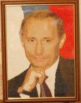 Владимир Путин и Дмитрий Медведев – крестиком и гладью